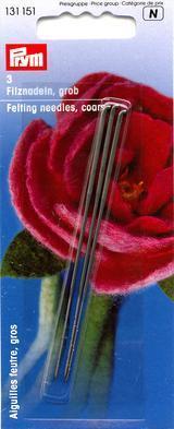 Иглы для валяния шерсти PRYM толстые 3 шт.  арт.131151