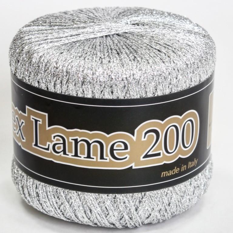 Пряжа Люрекс Ламе 200 (есть помоточно)