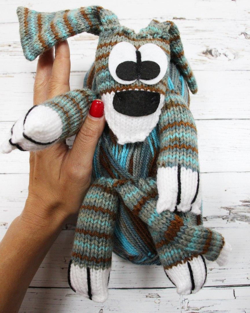 Пряжа Набор Dog (шарф) спецпредложение